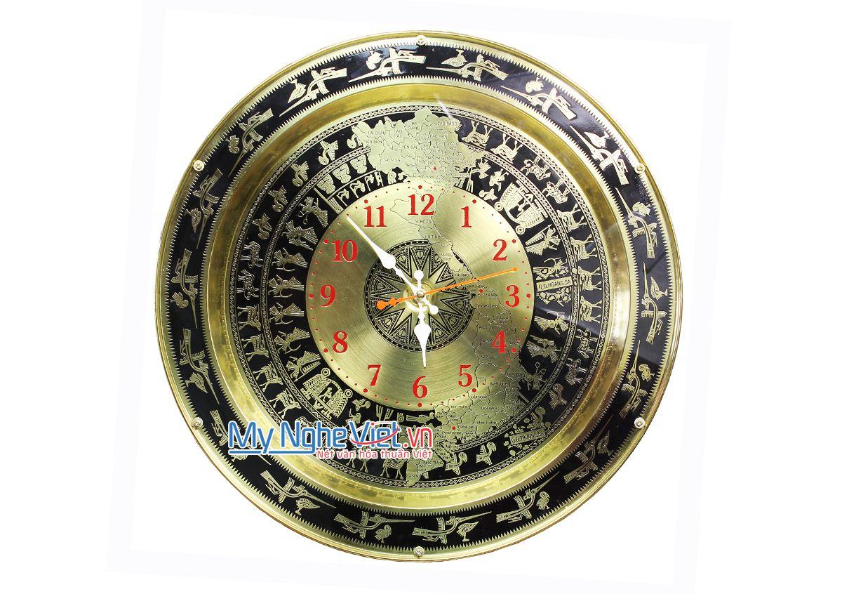Trống đồng cách điệu - Đồng hồ MNV-DD13
