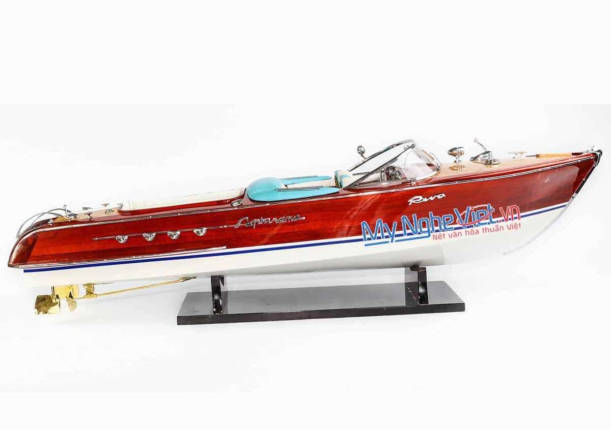 Mô hình du thuyền Riva Aquarama (thân 70cm) MNV-TB13