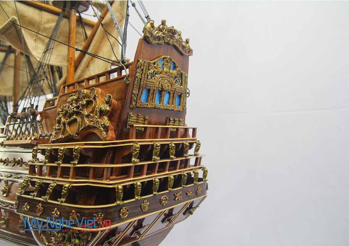 Le Soleil Royal - Tàu đô đốc thiện chiến