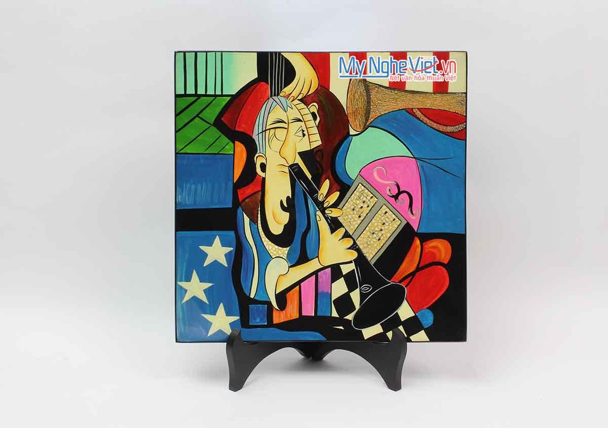 Tranh sơn mài Picasso MNV-VIP05
