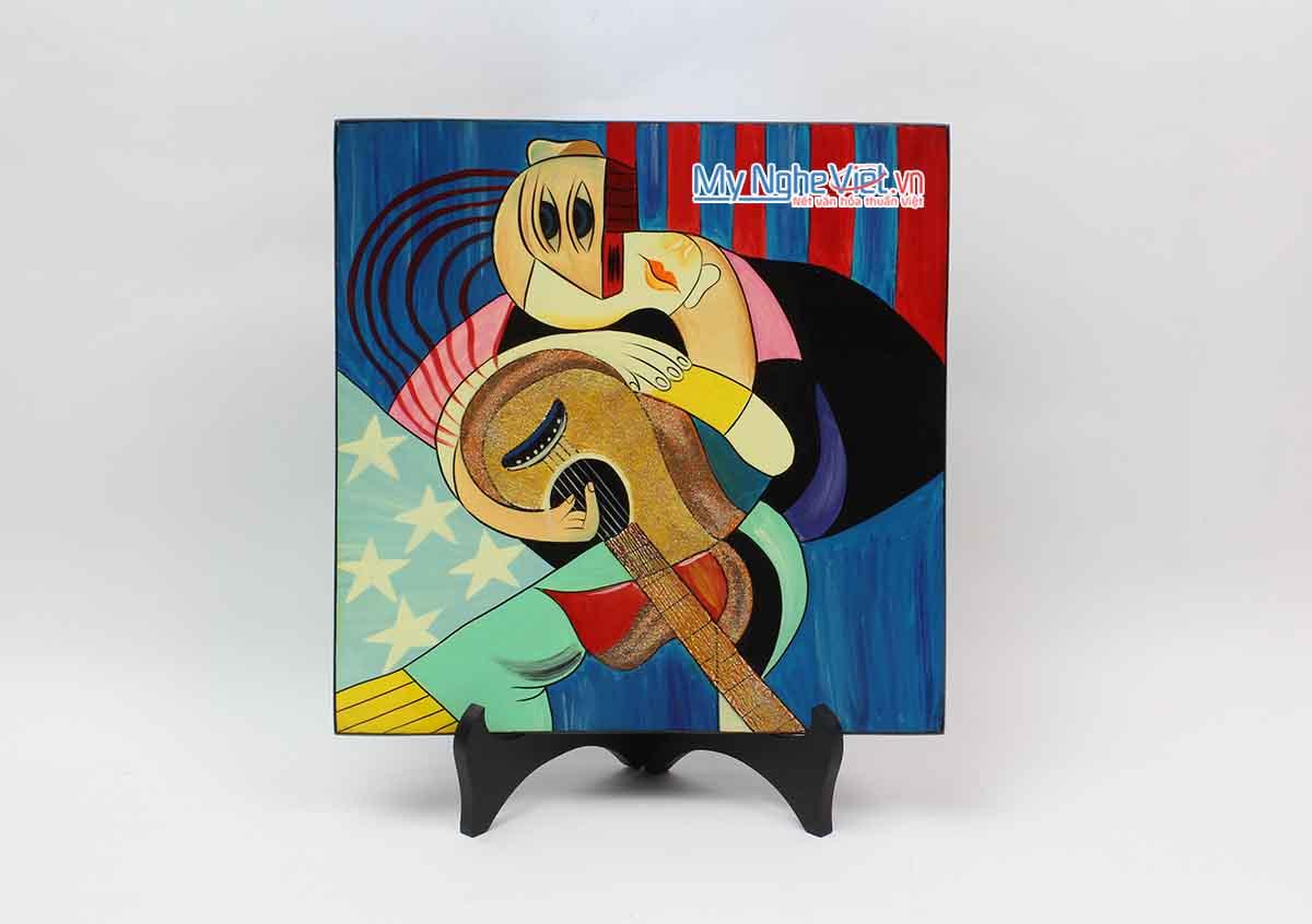 Tranh sơn mài Picasso MNV-VIP06