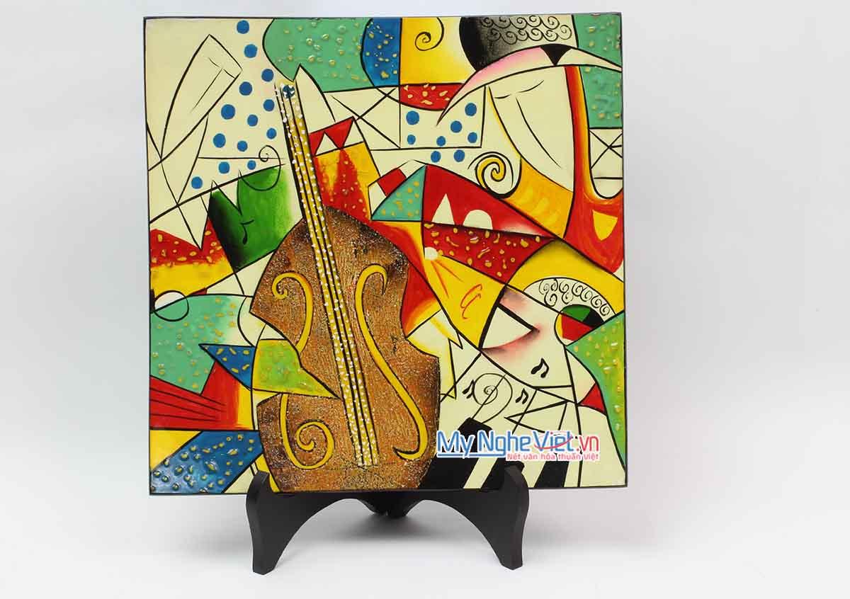 Tranh sơn mài Picasso MNV-VIP09