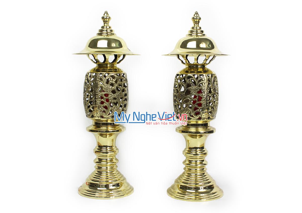 Đôi đèn điện - Bộ thờ cúng MNV-DD16