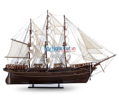 Mô hình tàu thuyền chở hàng Cutty Sark (Thân 1m) MNV-TB05