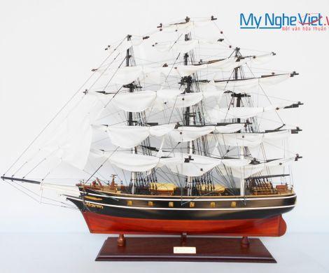 Mô hình tàu thuyền chở hàng CUTTY SARK (Thân 70cm) (Màu Sơn) - MNV-TSCT70P