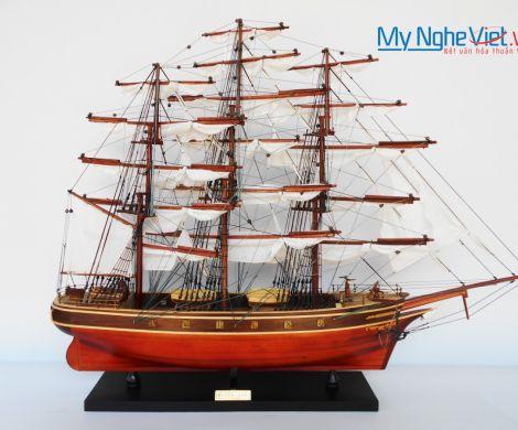 Mô hình tàu thuyền chở hàng CUTTY SARK (Thân 70cm) MNV-TSCT70W
