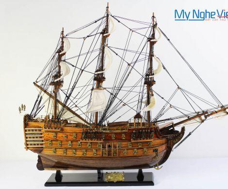 Mô hình tàu thuyền chiến cổ HMS Victory (thân 60) MNV-TB31