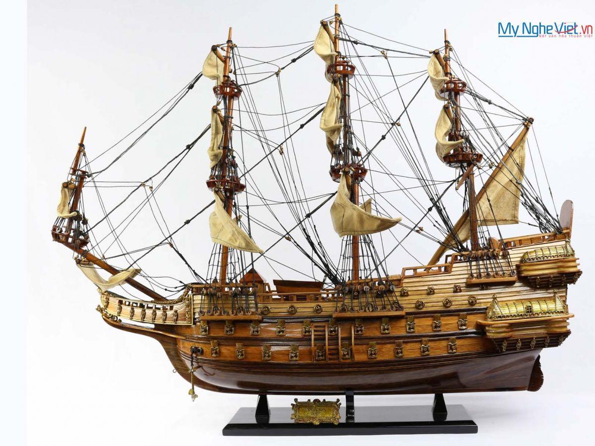 Mô hình tàu chiến cổ Wasa (thân 70cm) MNV-TB30