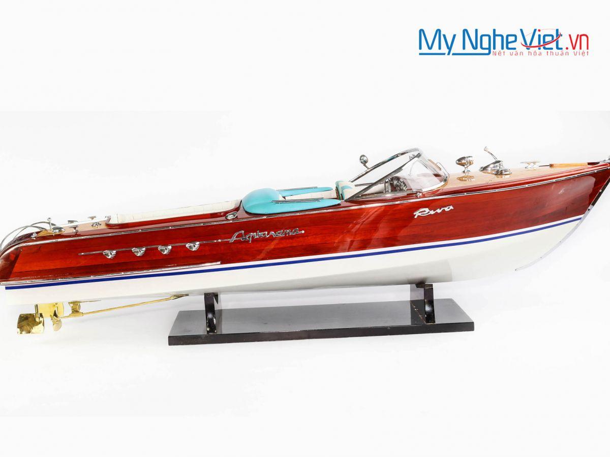 Mô hình du thuyền Riva Aquarama (thân 90cm) MNV-TB19