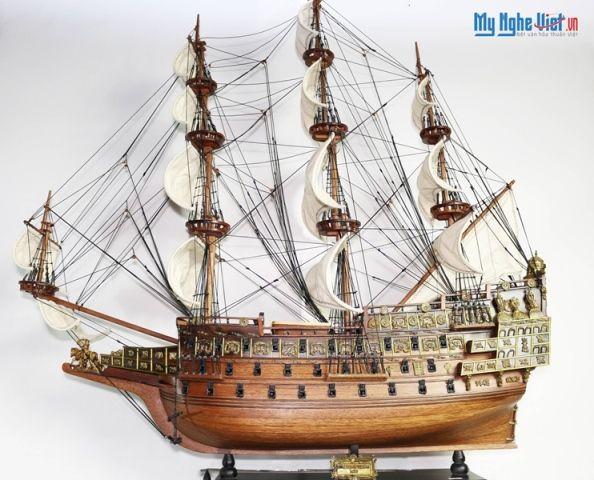 Mô hình tàu thuyền chiến cổ Sovereign of The Seas MNV-TB14-1