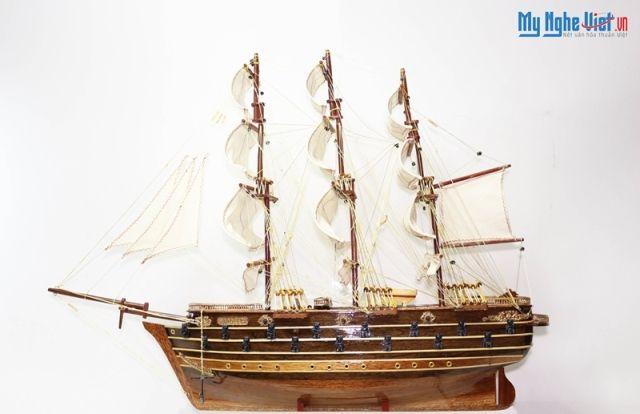 Mô hình tàu thuyền chiến cổ Napoleon (thân 60) MNV-TB06
