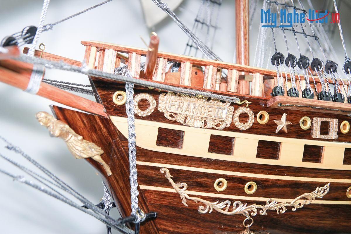 Mô Hình Tàu Thuyền Cổ Việt Nam - Santa Maria (Thân 60cm) MNV-TB44