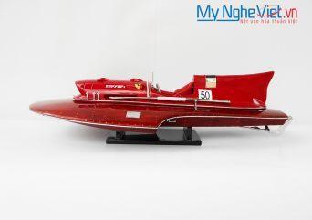 Mô hình du thuyền Ferrari Hydroplane (Thân 50cm) - MNV-SBFHP50P